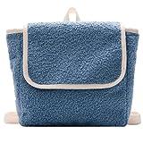 Mochila escolar de jardín de infantes mochila para niños ocio mochila escolar para niños pequeños mochila para bebé de color sólido lindo (3,23 * 23 * 7cm)