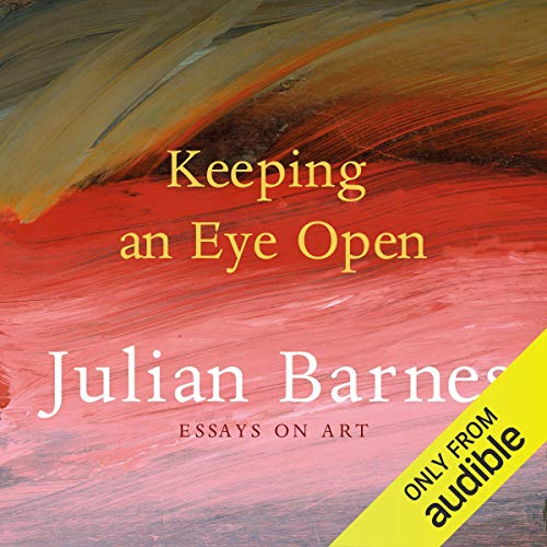 Keeping an Eye Open audiobook cover art