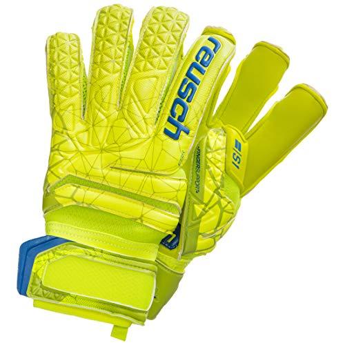 Reusch Herren Fit Control S1 Evolution Finger Support Torwarthandschuhe, Lime/Safety Yellow, 9