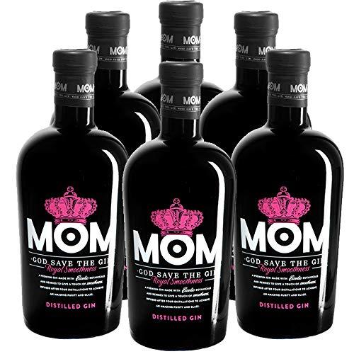 Ginebra Mom de 70 cl - D.O. Gran Bretaña - Bodegas Gonzalez Byass (Pack de 6 botellas)