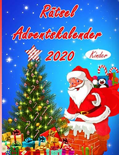 Rätsel Adventskalender 2020 Kinder: Rätsel, Ausmalen, Zeichnen, Puzzle, Ausschneiden und Einkleben. Hier bleibt kein Wunsch offen.