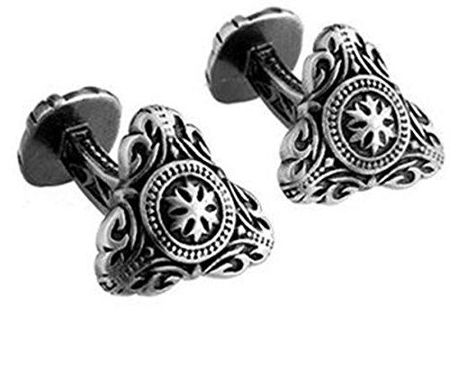 Gudeke Wars sparta de boutons de manchette bijoux bouclier gentleman