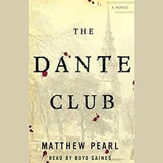 The Dante Club audiobook cover art