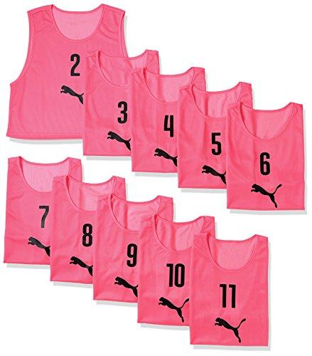 [プーマ] サッカー半袖 Tシャツ ビブスセット(10マイグミ) メンズ 21年秋冬カラー ピンクグロ(05) 2XL