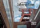 Zeche und Kokerei Zollverein Essen: Industrie-Architektur (Wandkalender 2022 DIN A4 quer)