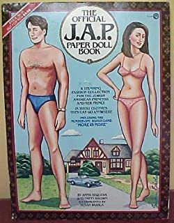 The Official J.A.P. Paper Doll Book: A Stunning Fashion Collection for a Jewish American Prince and Princess, in These Clothes They Can Go Anywhere