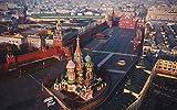 Russland Roter Platz Architektur Landschaft 1000 Stück Puzzles Für Kinder Erwachsene Spielzeug Geschenk DIY Spiel Übung Hände Familienerziehung