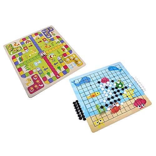 Juguetes educativos de educación temprana Go Game Set Juegos de viaje Five-In-A-Row Interactive Desktop Game 11.8X11.8X0.2In Juego de escritorio, juguete para niños, para viajar a casa