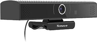 Tenveo専門店 VA1000|webカメラ マイク スピーカー内蔵一体型 会議 ウェブカメラ Full HD 1080p USB即挿即用 高画質 ラップトップ/PCカメラ 30FPS 210万画素 エコーキャンセル