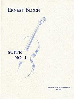 Bloch: Cello Suite No. 1