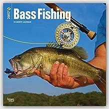 2017 Monthly Wall Calendar - Bass Fishing