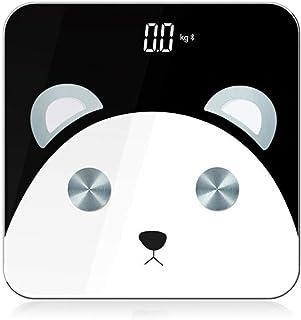 Báscula electrónica multifunción Bluetooth de lujo ligera Báscula inteligente de grasa corporal Báscula de peso de precisión doméstica
