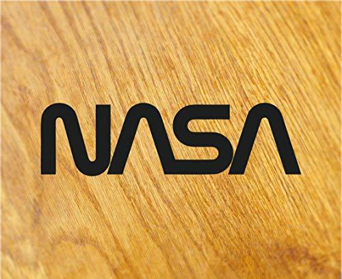 NASA Sticker Space Shuttle Moon Logo