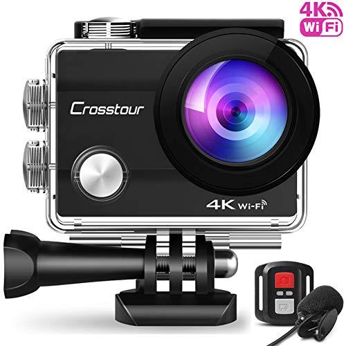 Crosstour『アクションカメラ4K高画質2000万画素webカメラ』