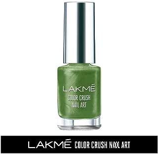 Lakme Color Crush Nailart, M18 Deep Olive, 6 ml