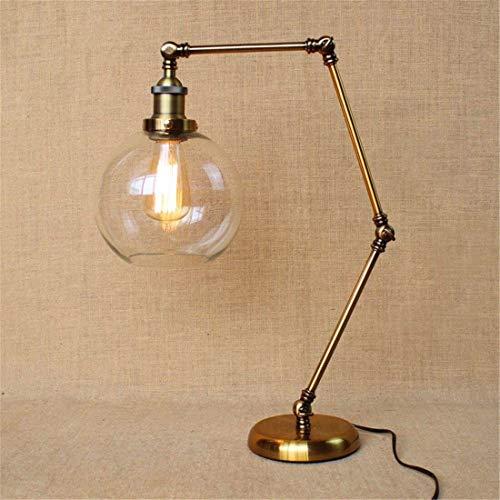 HYY-YY Moderno Estilo de decoración de hogares llevó la lámpara, lámparas de Ojos Caliente, Hierro Lámparas de Mesa, Trabajo Lectura de los niños Luces Decorativas