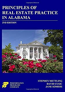 Principles of Real Estate Practice in Alabama