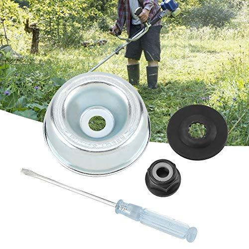 Mumusuki Accesorios de la Cubierta Protectora de la Cuchilla del cortacésped de la máquina de jardinería, Accesorio de Adaptador de la Cuchilla Kit de Mantenimiento para recortadoras de Hilo Stihl