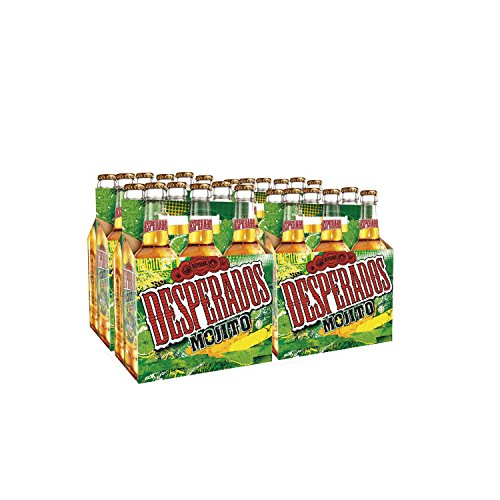 Desperados Mojito Cerveza - Pack de 24 Botellas x 330 ml - Total: 7.92 l