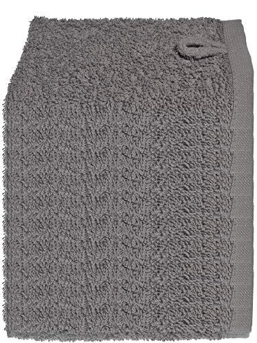 Julie Julsen Lot de 20 gants de toilette doux et absorbants Öko Tex Anthracite 30 x 30 cm