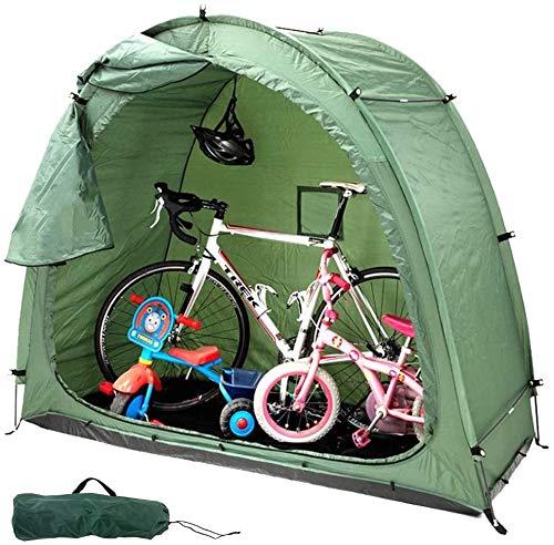 ZT For guardar bicicletas al aire libre cobertizo for bicicletas Jardín Carpa piscina nave de almacenamiento con bolsa de transporte, todas las estaciones de mal tiempo reutilizable Cueva bicicletas