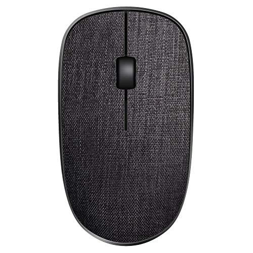 Rapoo M200 Plus kabellose Multimodus-Maus mit Bluetooth 3.0, 4.0 und 2,4 GHz, DPI Sensor, geräuschloses Klicken, grau