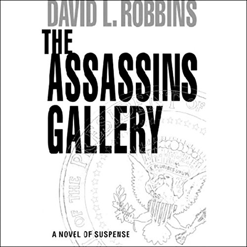 The Assassins Gallery audiobook cover art