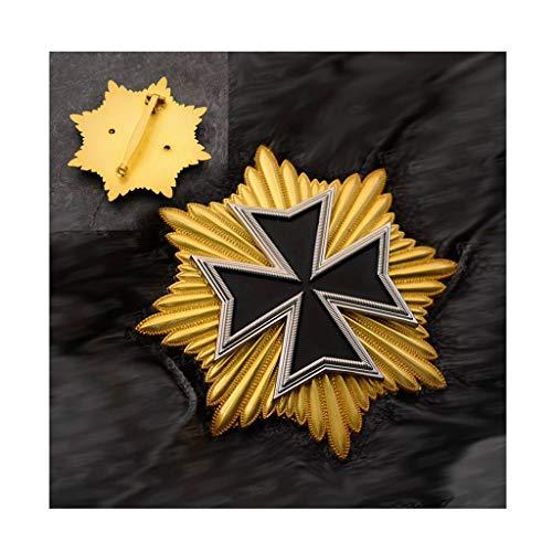 JXS Medalla de la WWI Alemana, réplica Cruzada de Hierro Astral, Insignia de Honor prusiano,Pin