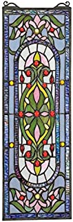 Stained Glass Panel - Palais Royal Stained Glass Window Hangings - Window Treatments