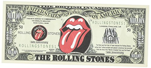 Rolling Stones 50th Anniversary Million Dollar Bill (10/$4.99) by AAC