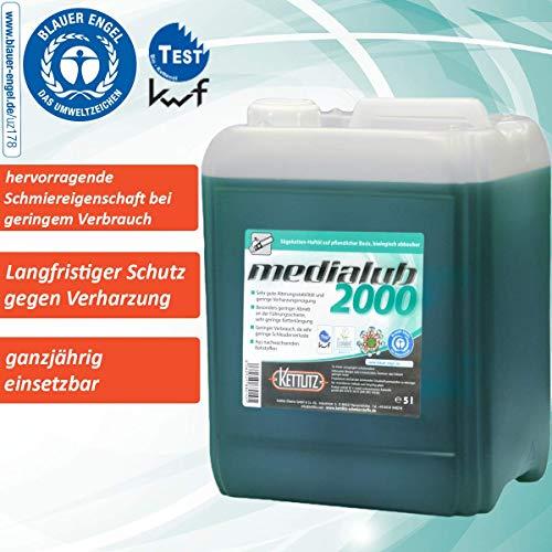 2 x 5 Liter Bio Kettenöl KETTLITZ-Medialub 2000