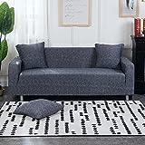 MKQB Funda de sofá elástica elástica para Sala de Estar Moderna, Funda de sofá de Esquina combinada, Funda Protectora de sofá de Muebles Antideslizante NO.11 4seat-XL- (235-300cm)