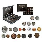 IMPACTO COLECCIONABLES Monedas Antiguas - 20 Monedas, Colección Segunda Guerra Mundial 1939-1945
