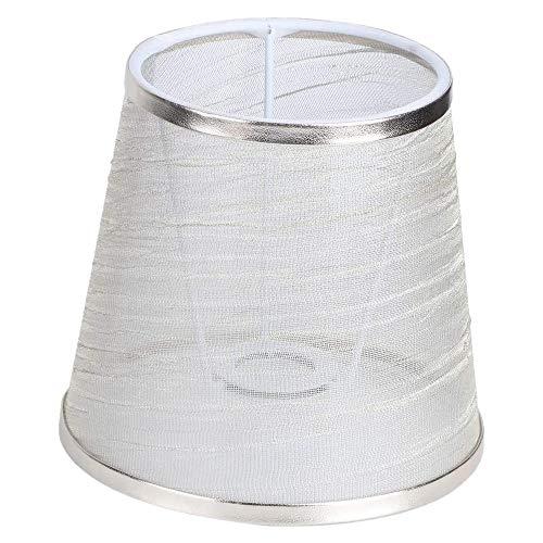 Bayda LáMpara de Tela de AraaA de Pantalla Transparente de Mesita de Noche LáMpara de Pared Cubierta de Repuesto para LáMpara de Escritorio