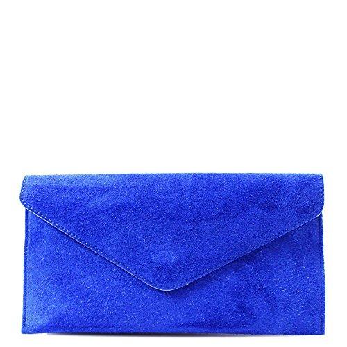 Hautefordiva, Poschette giorno donna Royal Blue large