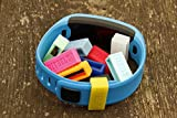 Bitbelt Disney Magic band- 2 Pack 90 Day Warranty. We Invented The Fitbit Clasp fix. (Yellow)