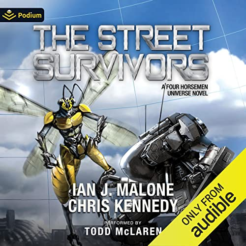 The Street Survivors: The Guild Wars, Book 12