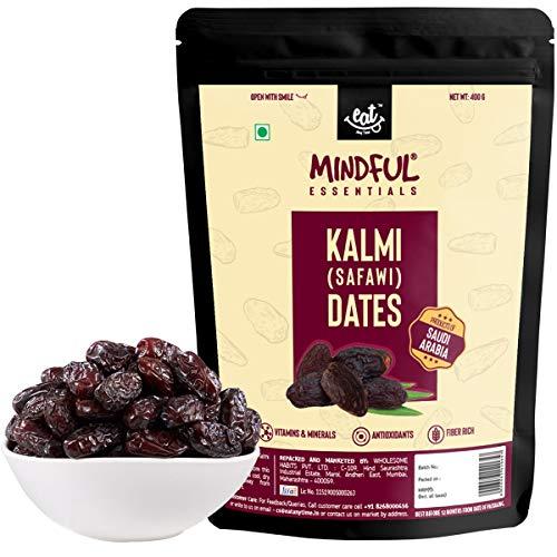 EAT Anytime Mindful Kalmi (Safawi) Dates - from Saudi Arabia, 400g