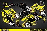 Kit Déco Quad para/ATV Calcomanías Kit para Yamaha Raptor - Punk Cráneo - Raptor 700 2006-2012