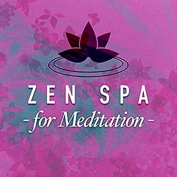 Zen Spa for Meditation