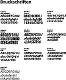 freitex Aubergine Schürze mit Namen individuell Bedruckt + Motiv Kochmütze 5 Sterne - 2