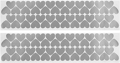 Muurtattoo Sticker DIY Art Decor Wallpaper Sticker voor Home Woonkamer Slaapkamer Slaapzaal Kantoordecoratie Zilver