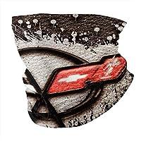 コルベットロゴサンUVプロテクションフェイスマスクネックゲイター防風スカーフ日焼け止め通気性ホワイトバンダナスポーツ&アウトドア用