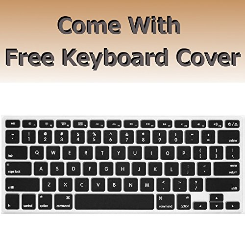 Rubberized Hard Case for 13 inch MacBook Air Model Number A1369 and A1466, Lips Prints Pattern Design with The Pink Bottom case, Come with Keyboard Cover