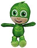 PJ Masks Gekko, Catboy o Owlette Pijama Cuernos 22cm Coleccionable Juguete de colección, Juego y caricias (Gekko)