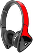 MightySkins Protective Vinyl Skin Decal Compatible with Monster DNA Headphones wrap Cover Sticker Skins Solid Red