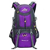 Hiking Backpack Nylon Waterproof Large Capacity Daypack for Outdoor Sports Travel Fishing Cycling
