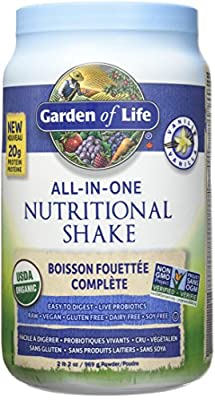 Garden of Life All in One Nutritional Protein Shake Vanilla 969g