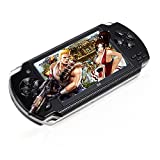 Global Mantra 4.3inch 8GB Handheld Game Console with Support 1000 Classic Games Support