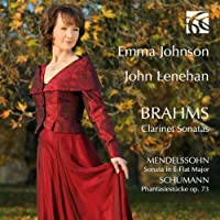 Clarinet Sonatas - Emma Johnson / John L by Johannes Brahms (2012-09-11)